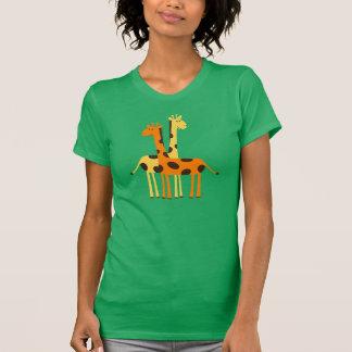 Cute Giraffes T Shirts