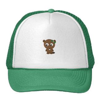 Cute Girl Beaver Trucker Hat