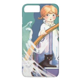 Cute Girl Black Cat Ghost Ghoul iPhone 8 Plus/7 Plus Case