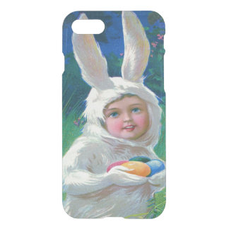 Cute Girl Easter Bunny Costume Field iPhone 8/7 Case
