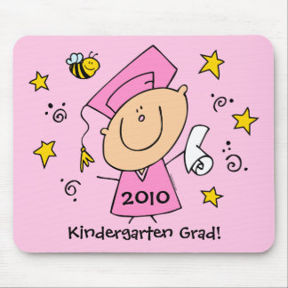 Cute Girl Grad Custom Mouse Pad