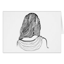 artsprojekt, salon, hairstylist, teen, dresser, woman, female, stylist, stylists, women, professional, beauty, fashion, hairstyle, minimalist, hairstylists, illustration, spa, young, minimalism, hairdresser, white, design, saloon, beautician, consultant, girl, hair, home, Card with custom graphic design
