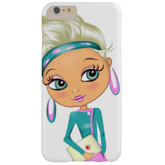 Cute girl illustration iphone 6 plus case