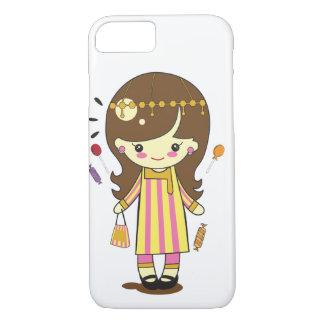 Cute Girl in Traditonal Costume iPhone 7 Case