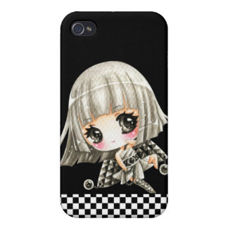 Cute girl case for iPhone 4