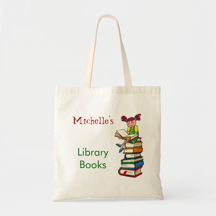 Adorable Personalized Tote Book Bag