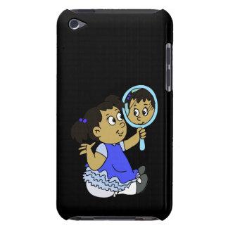 Cute girl medium skin iPod touch cases