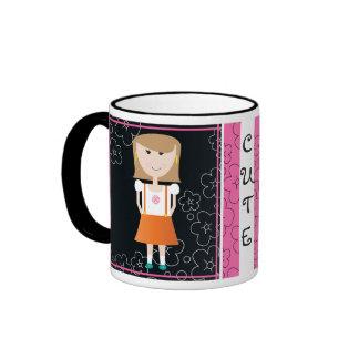 'Cute Girl' Mug