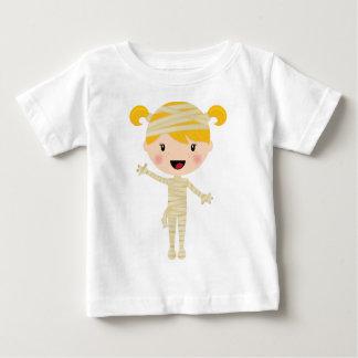 Cute Girl Mummy Halloween Costume Baby T-Shirt