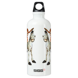 Cute Girl on Happy Horse SIGG Traveler 0.6L Water Bottle