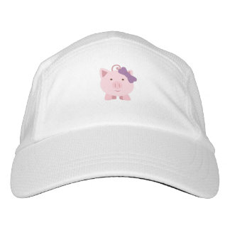cute girl pig hat
