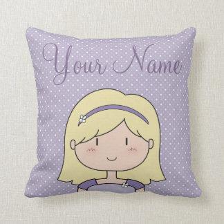 Cute Girl Pillow