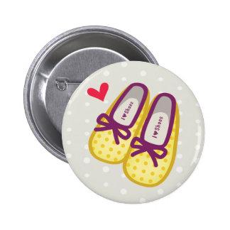 Cute Girl Shoes Pins