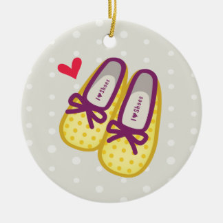 Cute Girl Shoes Christmas Tree Ornaments