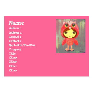 Cute Girl - Sonia 2047 Large Business Card