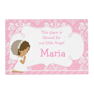 Cute Girl 'This place is blessed' Placemat