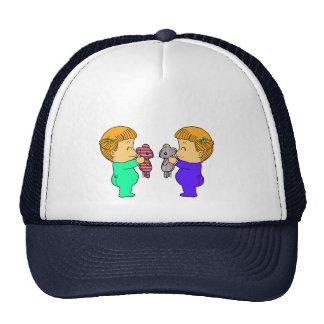 Cute Girl twins Trucker Hat