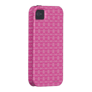 Cute Girlie Pink Skull and Crossbone Pattern Case-Mate iPhone 4 Cover