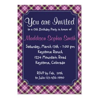 Cute Girls Birthday Invitations