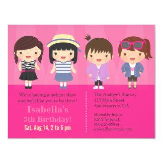 Fashion Show Party Invitations Announcements Zazzle