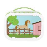 Cute girls horse yubo lunchbox yubo lunchbox