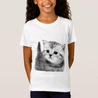 Cute Girls kitten T-Shirt