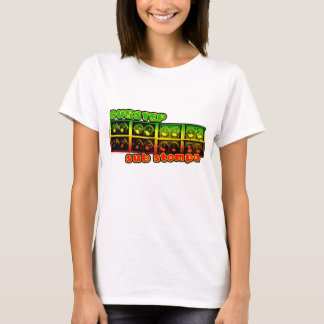 cute girls ladies womens DUBSTEP REGGAE tshir T-Shirt