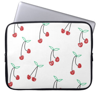 Cute Girly Cherry print Computer Sleeve