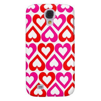 Cute Girly Love Hearts Samsung S4 Case