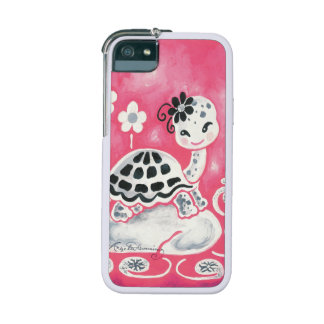 Cute Girly Pink Turtle iPhone 5/5S Cases