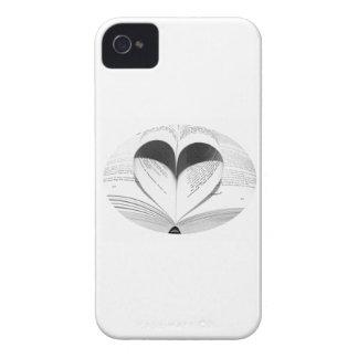 Cute Girly Teacher Geek Heart Love Books iPhone 4 Case