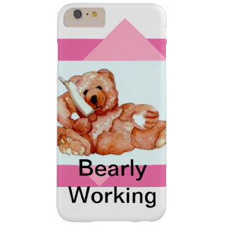 Cute Girly Teddy Bear Pink Bears CricketDiane Fun Barely There iPhone 6 Plus Case