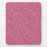 Cute girly trendy fashionable bubble gum pink mouse pad