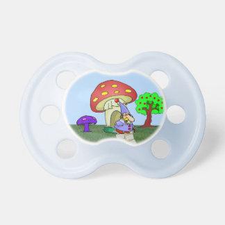 Cute Gnome & Mushroom House BooginHead® Pacifier