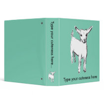 Cute Goat binder