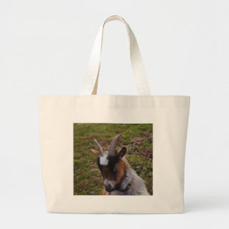 Cute Goat. Large Tote Bag