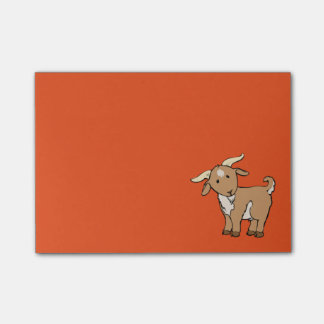 Cute Goat Post-it Notes