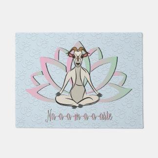 CUTE GOAT YOGA | Namaste GetYerGoat™ Doormat