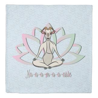 CUTE GOAT YOGA | Namaste GetYerGoat™ Duvet Cover