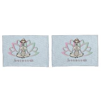 CUTE GOAT YOGA | Namaste GetYerGoat™ Pillow Case
