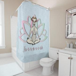 CUTE GOAT YOGA | Namaste GetYerGoat™ Shower Curtain