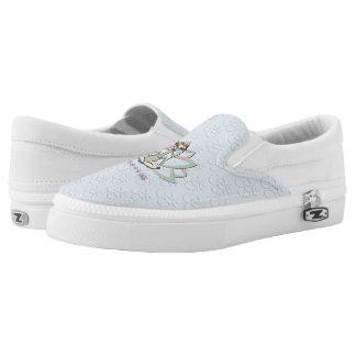 CUTE GOAT YOGA | Namaste GetYerGoat™ Slip-On Sneakers