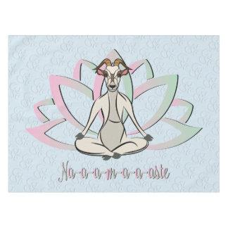 CUTE GOAT YOGA | Namaste GetYerGoat™ Tablecloth