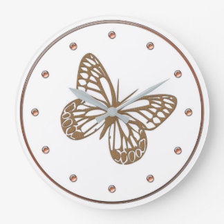 Butterfly For Kids Wall Clocks Zazzle