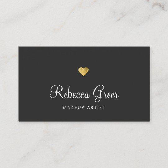Cute gold heart black beauty consultant business card zazzle cute gold heart black beauty consultant business card colourmoves