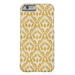 Cute gold ikat tribal patterns barely there iPhone 6 case