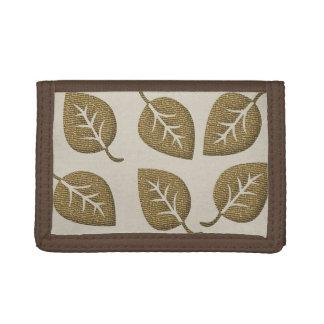 Cute Gold Leaf Wallet