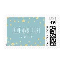 Cute Gold Stars   Mint Postage Stamp   Hanukkah