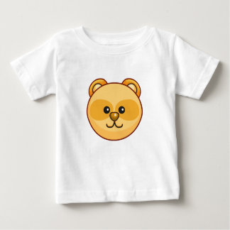 Cute Golden Bear Character Customizable Baby Baby T-Shirt