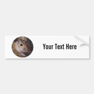Cute Golden Pet Gerbil Bumper Stickers